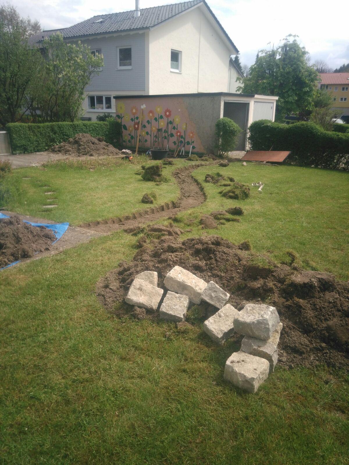Gartenprojekt Wange 2016