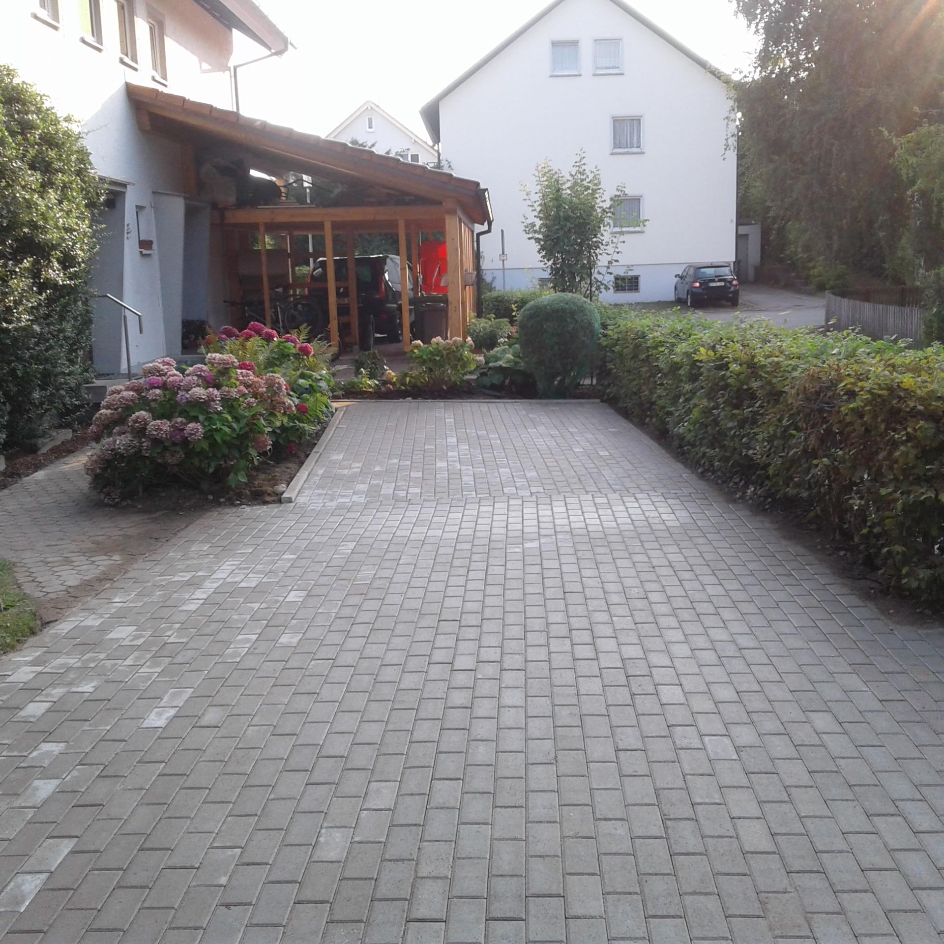 Pflasterprojekt in Wangen - NACHHER