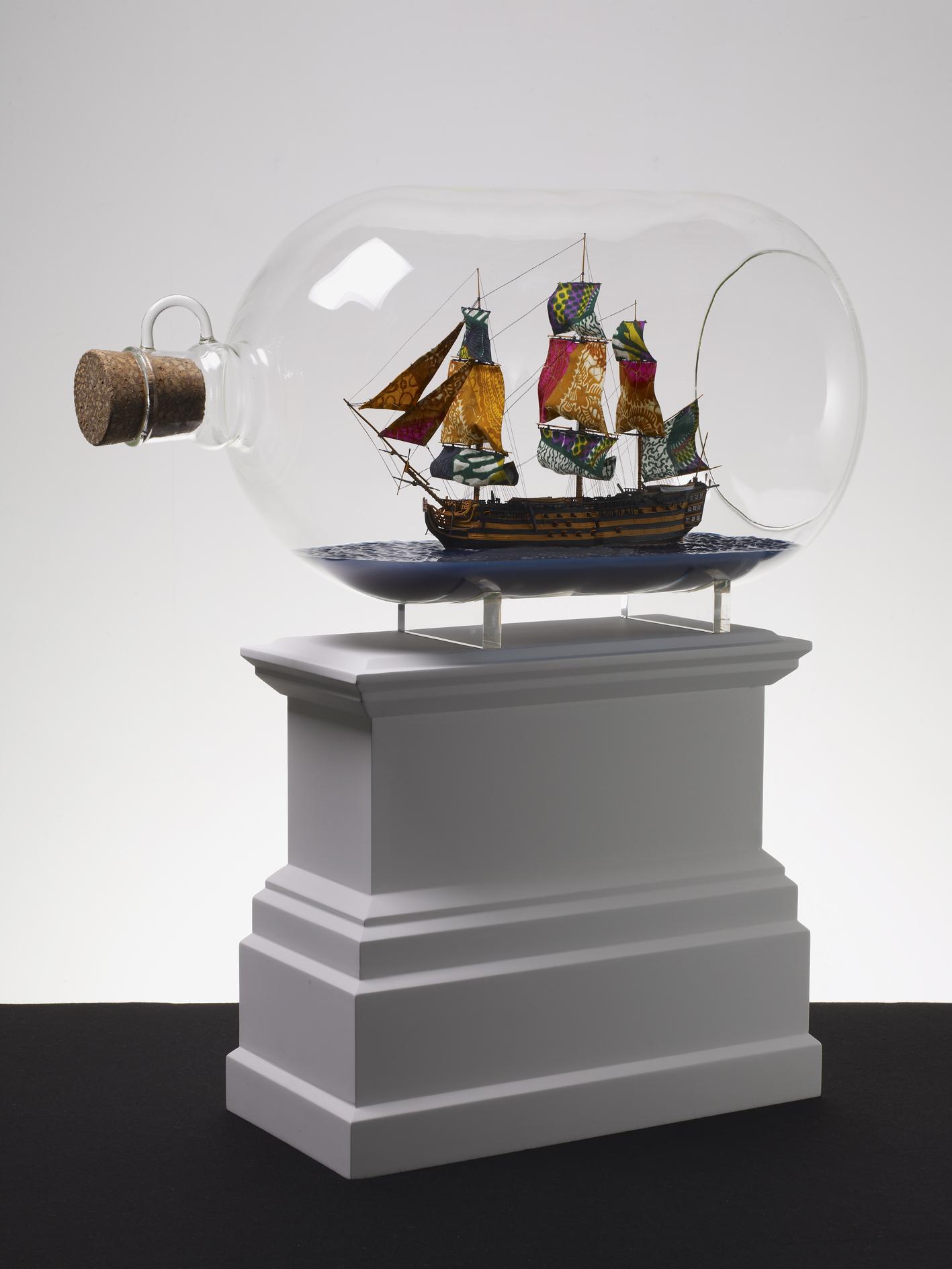 Nelson's Ship in a Bottle, 2009  Stephen Friedman Gallery, London © Yinka Shonibare CBE, Courtesy der Künstler, Stephen Friedman Gallery, London und James Cohan Gallery, New York