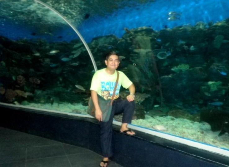 Manila Ocean Park and Alex Moises