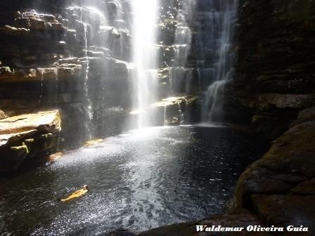 Poço da cachoeira do Mexila