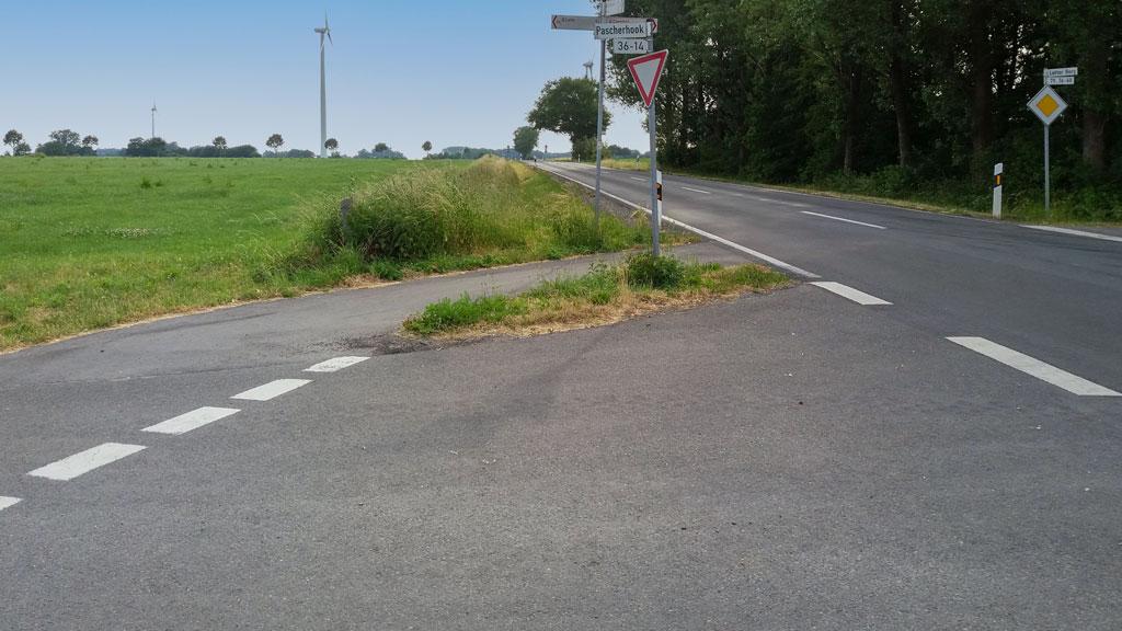 Rorup Isfelder Weg
