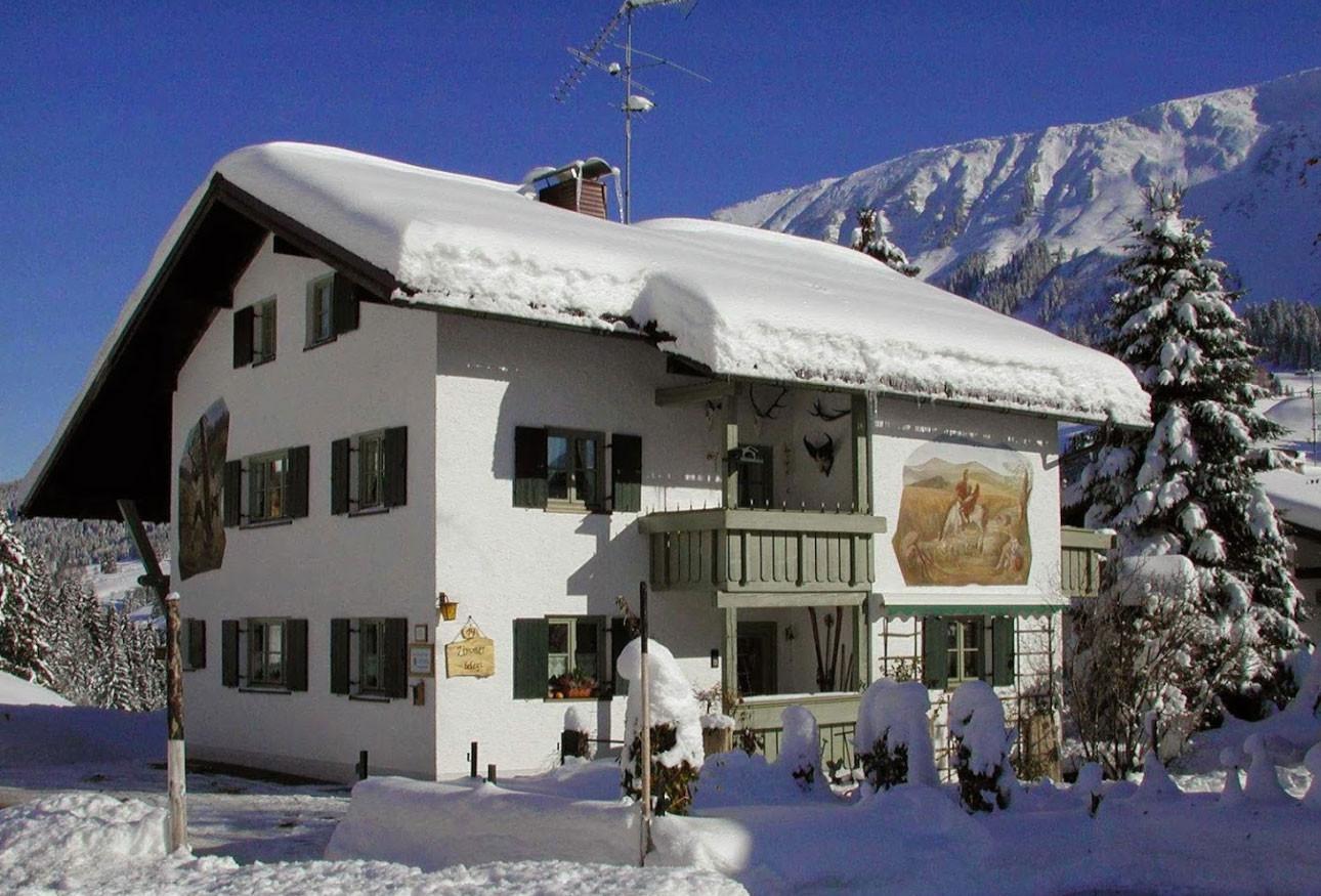 Gästehaus Berlinger im Winter