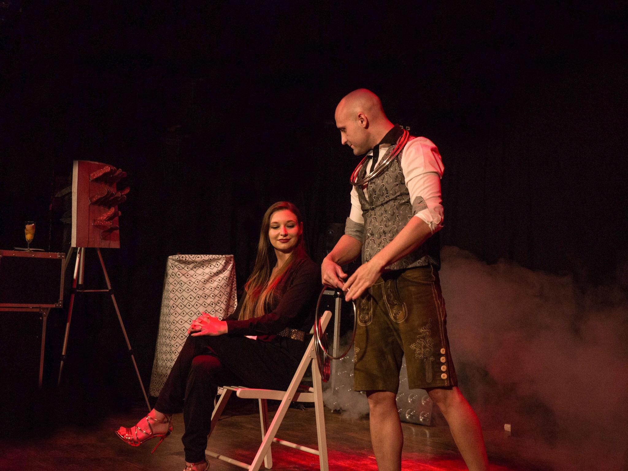 Johnny Diablo - Stage Show Wien Austria
