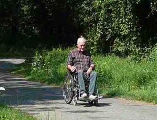 motorisation de fauteuil roulant existant, c-automatique
