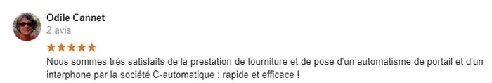 Avis C-automatique de Madame Odile Cannet Civray 86400