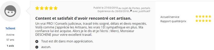 Avis C-automatique de Monsieur Bertrand -Usseau 79