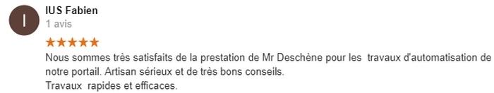 Avis C-automatique de Monsieur IUS Fabien Melle 79500