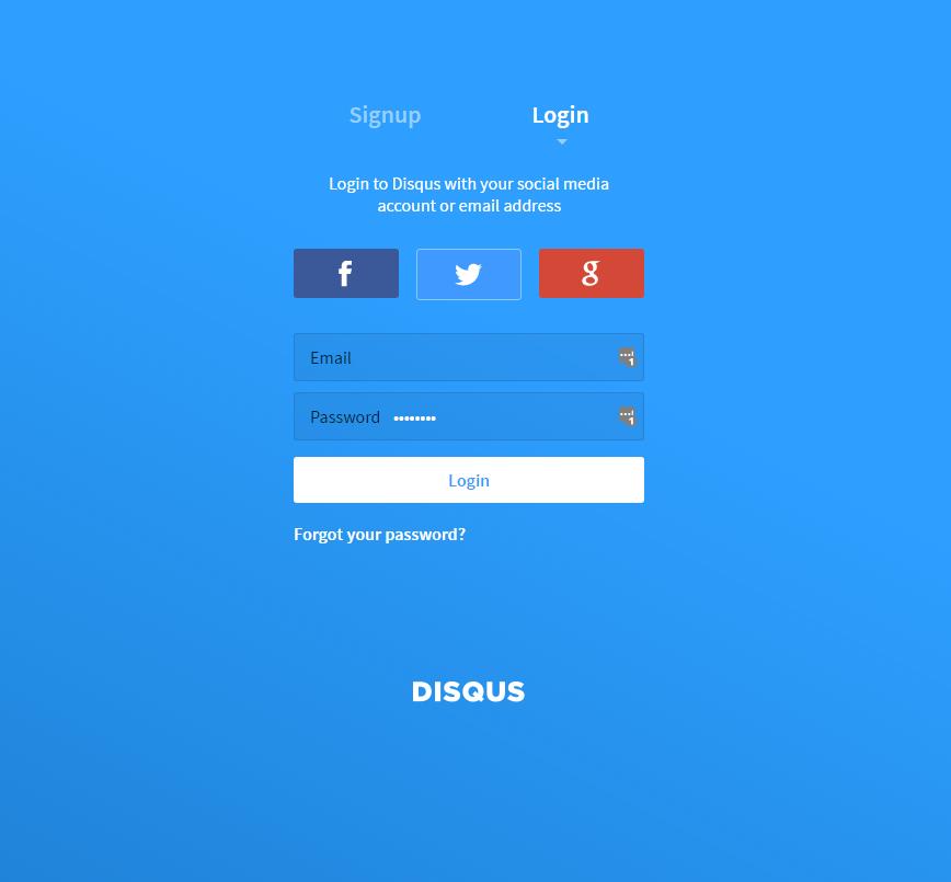 2. SNSのアカウントまたは、[ メールアドレス ・ パスワード ] を入力し、最後に [ Login ] をクリック