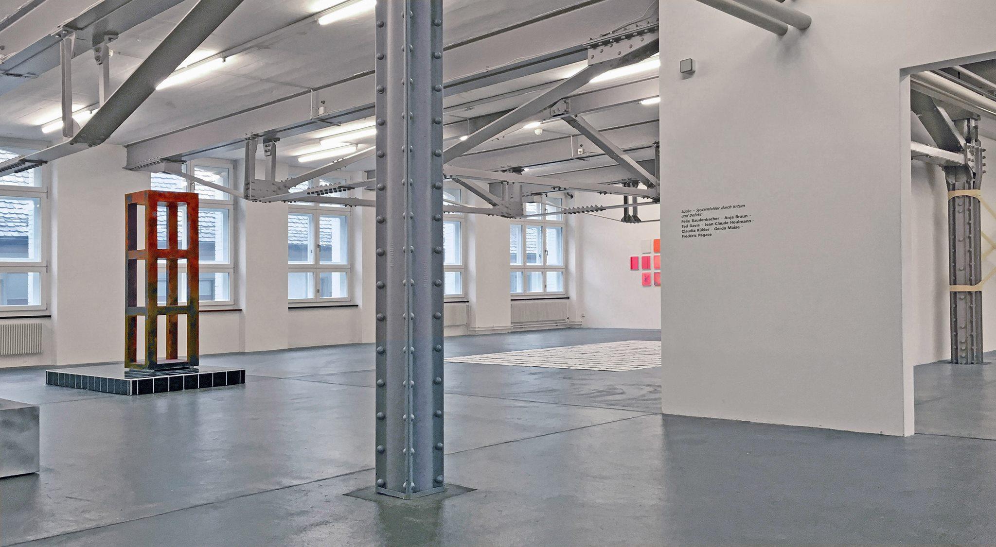 Ausstellungsansicht Kunsthalle Vebikus Schaffhausen, 2018