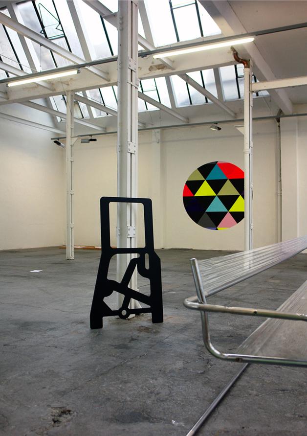 Ausstellungsansicht Regionale 16, Projektraum M54, 2015, Jean-Claude Houlmann