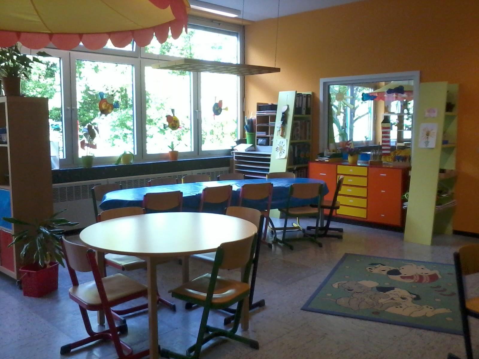 Bastelraum - Wie der Name schon sagt, wird hier gebastelt. Die Kinder können zu den passenden Jahreszeiten kreativ aktiv werden.