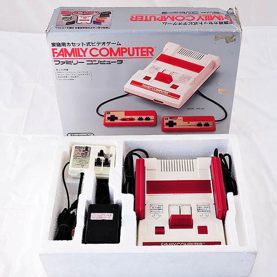 レトロゲーム機 ファミコン本体買い取ります!