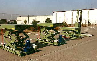 Hebetische für eine Papierfabrik