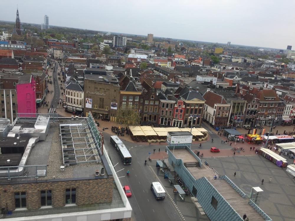 Uitzicht vanaf de toren