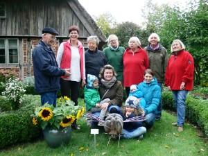 Die Landfrauen Maike Ehlers, Ina Carstens, Angelika Murza und Jenny Albert