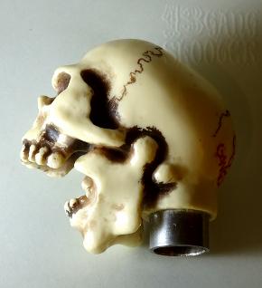 Skull No.3 Shift knob /ドクロ3号・シフトノブ