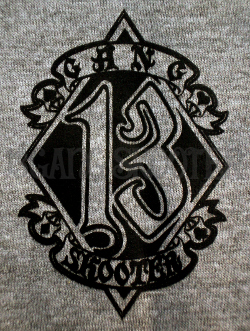 WL BOBBER MACHINE Tee(Gray)/WLボバー グレーTシャツ・フロント胸プリント