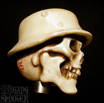 Helmet Skull Shift knob/ヘルメットスカル・シフトノブ