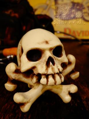 Cross bone Shift knob/クロスボーン・シフトノブ