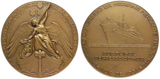 João da Silva - Medalha comemorativa do Congresso da Marinha Mercante Nacional (1951)
