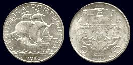 João da Silva - 2,50 Escudos Prata 1940