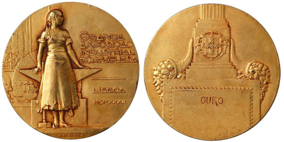 João da Silva - Medalha da Grande Exposição Industrial Portuguesa (1932)