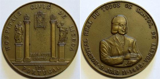 João da Silva - Medalha Comemorativa dos Hospitais Civis de Lisboa