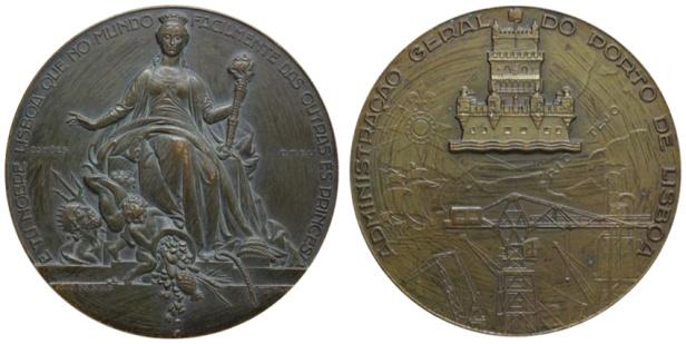 João da Silva - Medalha dedicada à cidade de Lisboa (1952)