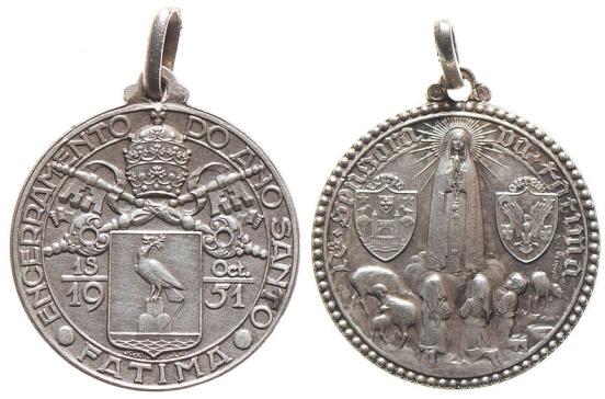 João da Silva - Medalha do encerramento do Ano Santo (1951)