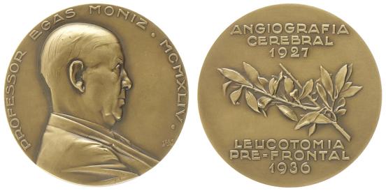 João da Silva - Medalha dedicada a Egas Moniz (1944)