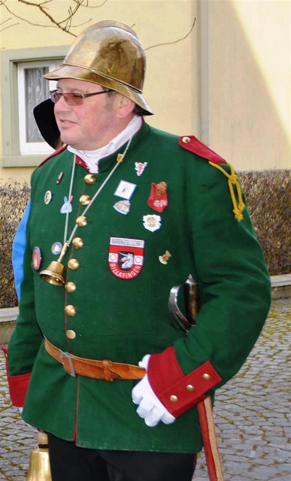 Narrenpolizist Edmund Schnetzer