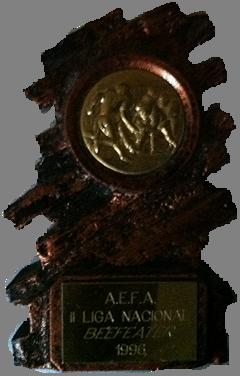 II LIGA AEFA 1996