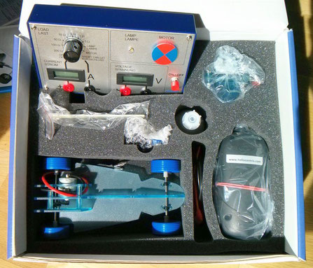 Experimentiermaterial Brennstoffzellen-Auto