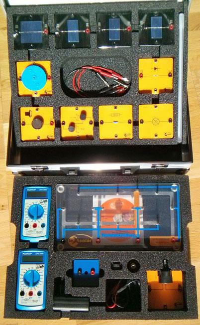 Experimentiermaterial Photovoltaik