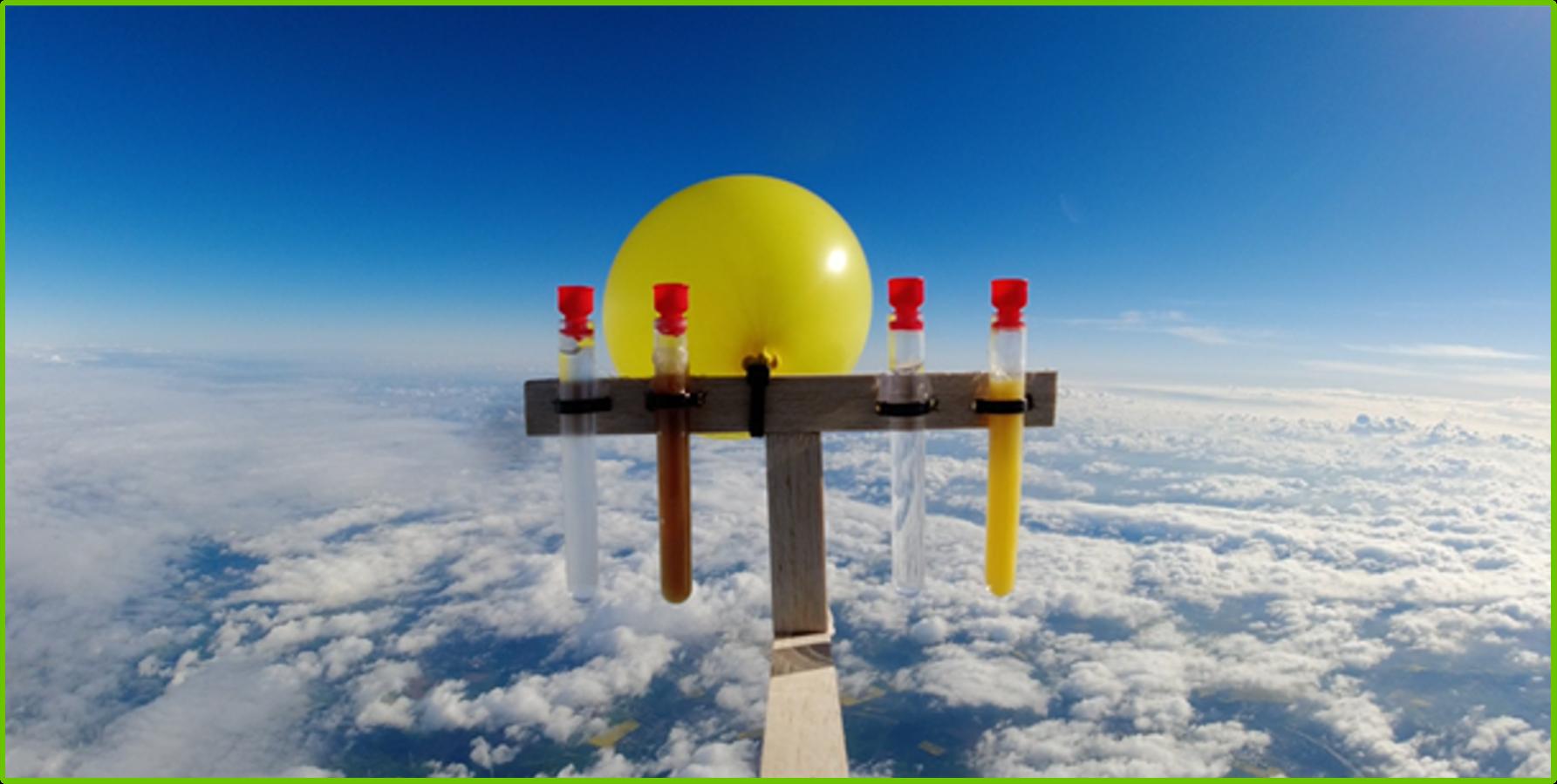Marienschüler*innen schicken Sonde in die Stratosphäre