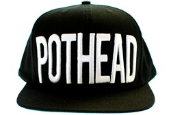 Booger Kids Pothead Snapback Hat Black  Our Price: €27.99