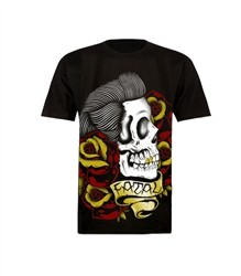 Fatal Greaser T Shirt Black  Price €28.00