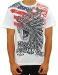Southpole Indian Chief Liberty Tee Shirt White  Our Price: €26.00