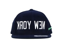 Mighty Healthy New York Snapback Hat Navy  Our Price: €27.99