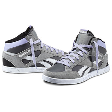 Reebok Royal Court Mid Donna Disponibilità immediata   Invia la prima recensione Color Flat Gry / Rivet Gry / Crisp Purple / Blk / Wht / (V47323) PRICE €65.00