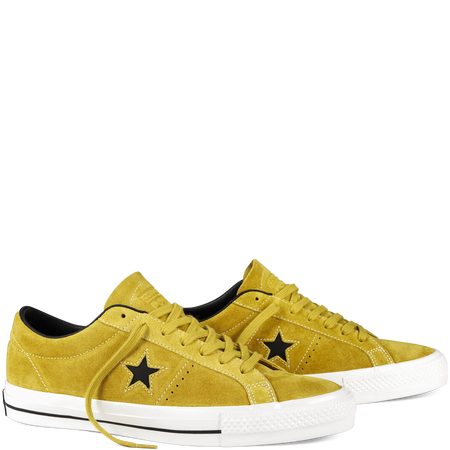 Cons One Star Pro Euro 80,00 Color: Yellow Bird a half-size large Find Your Fit SIZE: Men 8 / Women 10; Men 8,5 / Women 10,5; Men 9 / Women 11; Men 9,5 / Women 11,5; Men10 / Women 12; Men 10,5 / Women 12,5; Men 11 / Women 13; Men 12 / Women 14