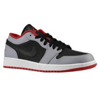 Jordan AJ1 Low - Men's Black/Gym Red/University Gold | Width - D - Medium  Product #: 53558035 Price: €94.99