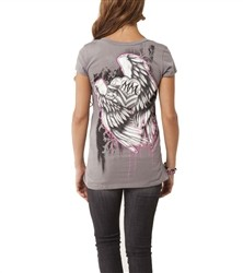 Metal Mulisha Hot Ride V Neck Shirt Grey  Our Price: €25.00