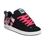 DC Shoes Womens Court Graffik SE Sneakers Black  Our Price: €65.00