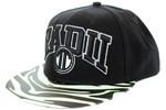 Radii Uni Snapback Hat Black White Lime Green Zebra  Our Price: €27.99