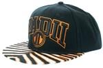 Radii Uni Snapback Hat Black White Orange Stripe  Our Price: €27.99