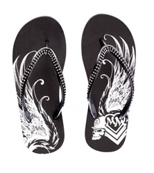 Metal Mulisha Felt Free Sandals Black  Our Price: €25.00