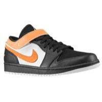 Jordan AJ 1 Strap Low - Men's Black/Electric Green/White | Width - D - Medium  Product #: 74420031 Price: €99.99