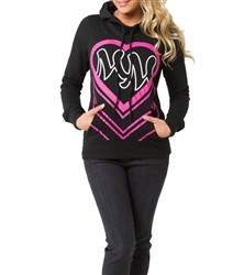 Metal Mulisha Taryn Fleece Pullover Hoodie Black  Our Price: €54.00